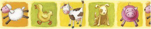 Decofun 42502 - Bauernhof, Tapetenbordüre Dinico http://www.amazon.de/dp/B000QEXQBA/ref=cm_sw_r_pi_dp_HTKNwb0N8RJYA