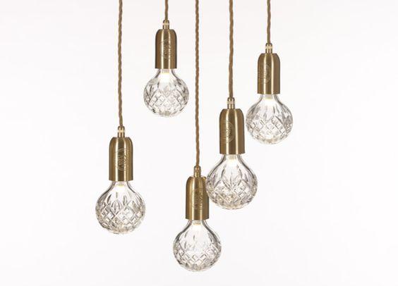 Crystal Bulb - Clear Crystal Bulb Chandelier | #LeeBroom