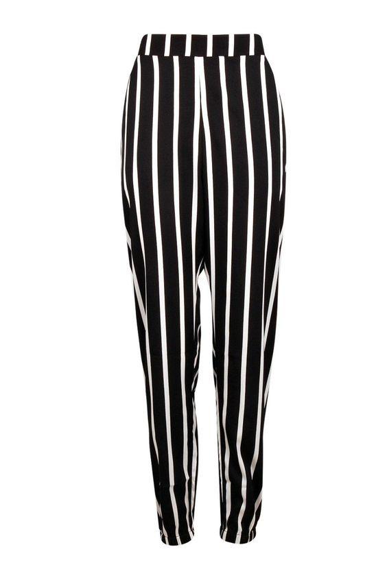 Mara Wide Stripe Cuffed Jogger