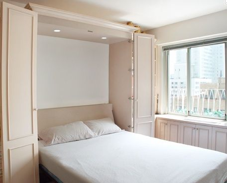 Image Result For Custom Cabinets Around Bed