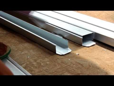 gunting untuk rangka baja ringan cara merakit atap kanopi youtube awning