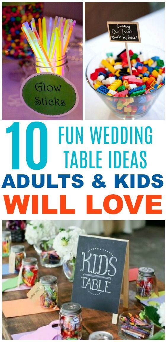 10 Kid S Table Wedding Ideas The Kids And Adults Will Love Kids Table Wedding Kids Wedding Favors Wedding Table Games
