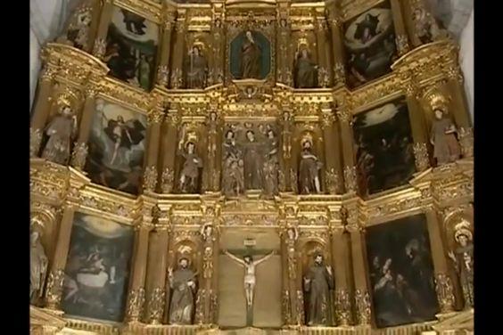 Retablo del más puro estilo renacentista S XVI. Parroquia de Xochimilco