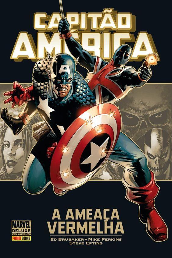 Capitão América - A Ameaça Vermelha - Marvel Deluxe - MonsterBrain