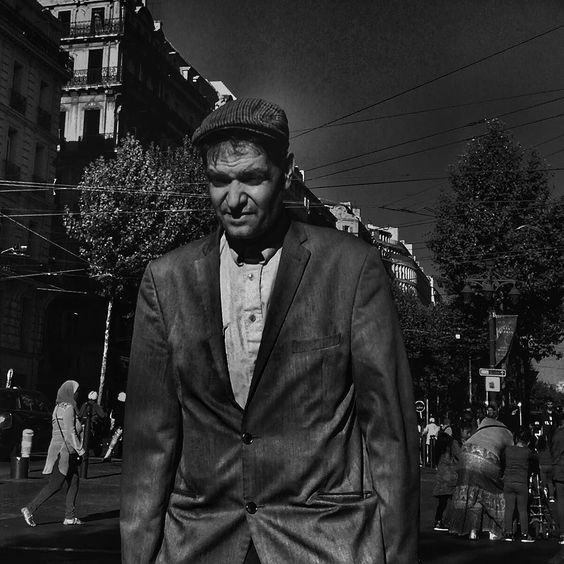 En remontant la Canebière #people of the #street #marseille #canebiere #blackandwhite #bnw #bnw_europe #bnwlife #bnwlovers