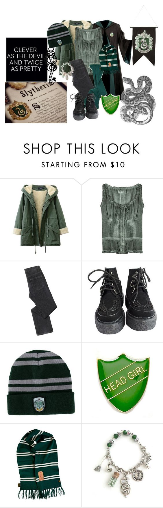 """""""If I got into hogwarts"""" by wynysc23 ❤ liked on Polyvore featuring True Religion, Baukjen, Elope and mark."""