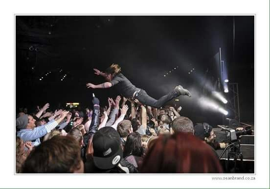 Crowd surfing Blood Brothers