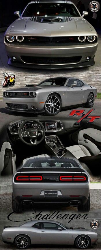 Shakin' It, the 2015 Dodge Challenger 392 Hemi Scat Pack Shaker. Powered by Dodge's largest engine yet the 6.4L V8 with a 'projected' 485HP and 475ft-lbs of torque. Sprinting 0-60mph in 4.5 sec and a top speed of 185mph. All that muscle gets Bilstein high-performance shock absorbers and a Brembo brake system for great handling and control.
