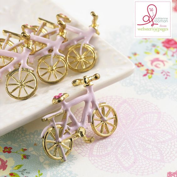 Webster's Pages New Year New You by Adrienne Looman - cute and teeny bikes!