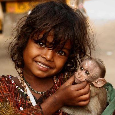 Sonrisas desde la India