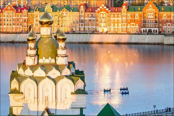 Yoshkar-Ola city, Russia,
