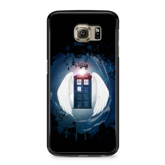 Tardis Black Hole Samsung Galaxy S6 Case
