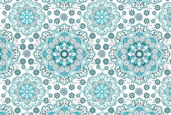 2 Seamless Floral Vector Patterns by Sunny_Lion on Creative Market