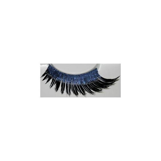 Eyelashes (6.77 CAD) ❤ liked on Polyvore featuring beauty products, makeup, eye makeup, false eyelashes, accessories, eyelashes, blue, eye lashes i blue eye makeup