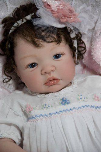 Reborn Doll Baby Girl Shyann Aleina Peterson~ Delta Dawn~ Sarah Louise Gown   eBay