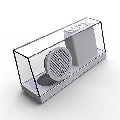 Expower(R)Neuest Transparenten Bluetooth Lautsprecher mit Uhr ,LED-Display,Line In und FM Radio Funktionen für Iphone Ipad Macbook Samsung und alle Bluetooth Gerät (weiß) Expower http://www.amazon.de/dp/B00SMD4XTG/ref=cm_sw_r_pi_dp_W-Anvb1VQ9P30
