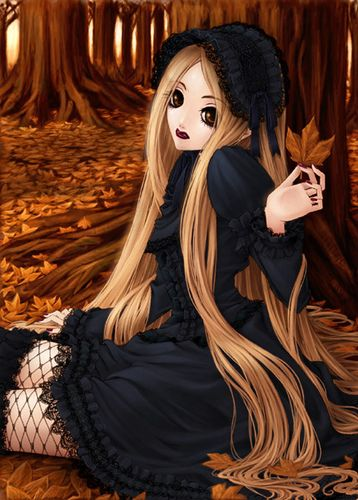 Gothic Anime | Gothic Anime Girl