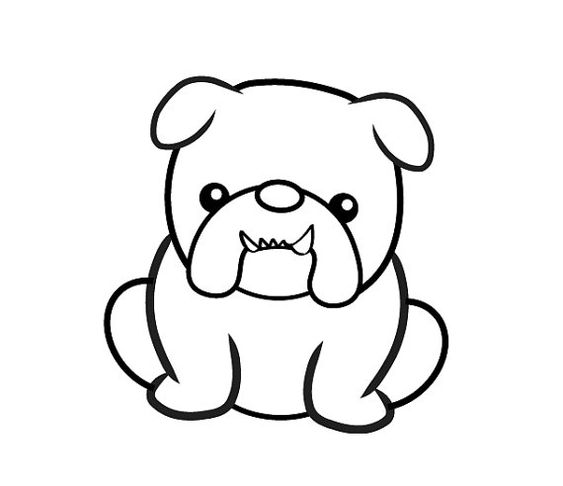 Handmade Clear Rubber Bulldog Stamp | Shape, Handmade and ...