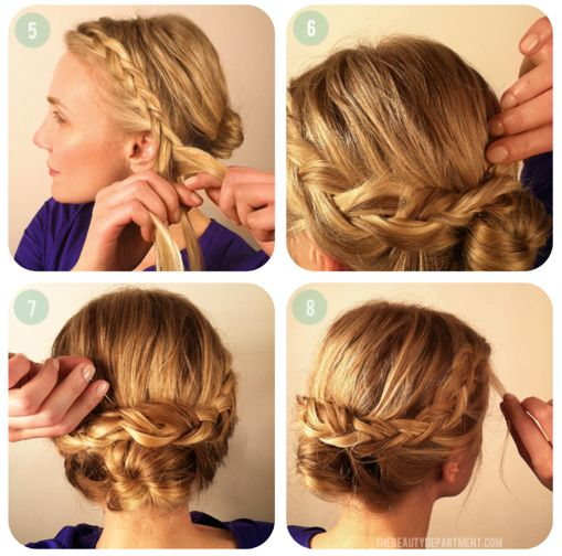 Miraculous The Beauty Braided Buns And The Beauty Department On Pinterest Short Hairstyles Gunalazisus
