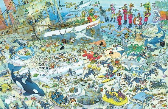 Deep Sea Fun - 1000