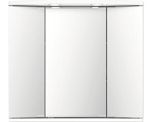 Spiegelschrank Jokey Funa Led Weiss 68x60 Cm Ip20 Home Decor