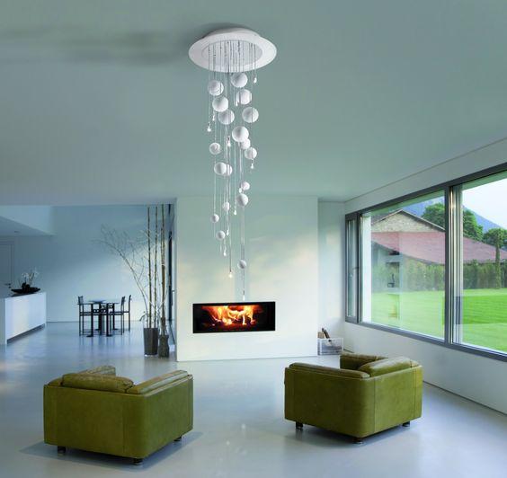 lampadari metallux : Lampadario a soffitto. Scopri tutta la collezione qui --> http://www ...
