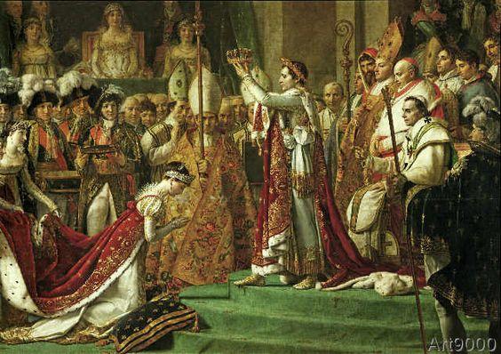 Jacques-Louis David - Coronation of Napoleon / David
