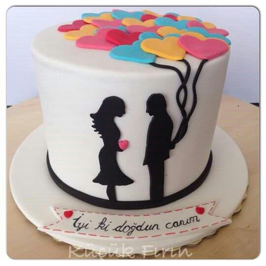 Birthday cake, Doğumgünü pastası,