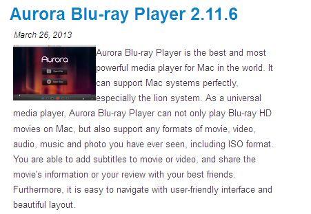 THEBEST30 Aurora Blu-ray Player 30 OFF