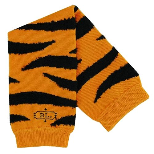 BabyLegs legwarmers in Tiger - a tiger stripe print that is great for dress up, Halloween costumes and certain sports teams!