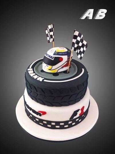 F1 Cake Lewis Hamilton Mercedes Cakes Pinterest Cakes
