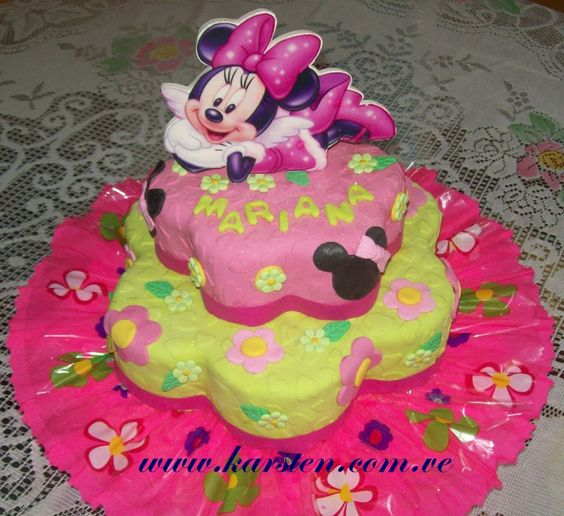 Torta de Minnie Mouse