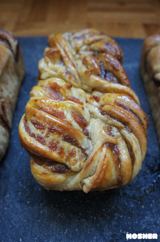 Pumpkin Spice Babka | the Nosher | myjewishlearning.com #sweets #dessert