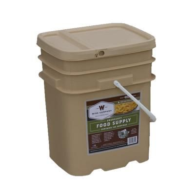 120 Serving Entree Only Grab and Go Bucket