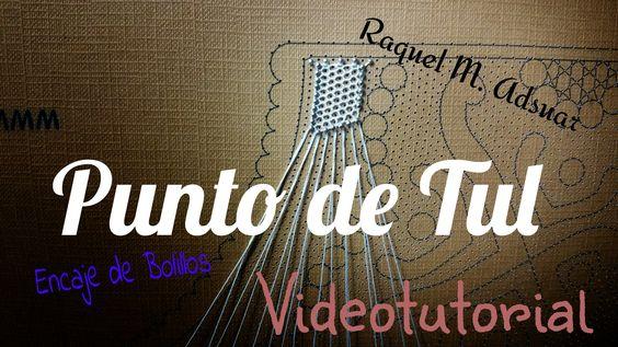 En este videotutorial podréis aprender a hacer el punto de tul. Es un fondo de encaje que lo utilizamos en técnicas como el Ret Fi, el Tonder, la Blonda y es...
