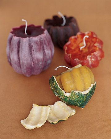 DIY candle ... wonderful idea . I would like to try with citrus fruits or pomegranate