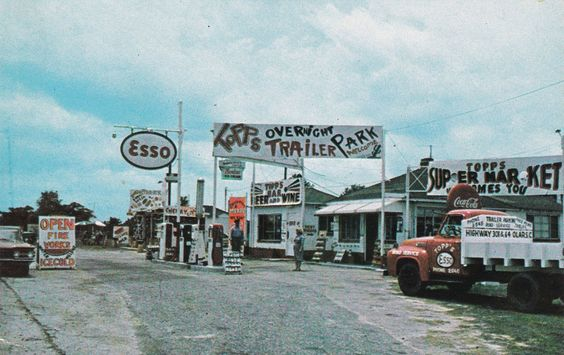 ESSO Gas Station , DENMARK , South Carolina , 40-60s