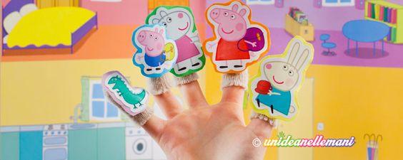 Vuoi costruire dei simpatici burattini da dita fai da te? Ecco il tutorial per fare delle marionette di carta da infilare nelle dita.