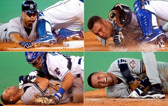 Derek Jeter's injury  2003