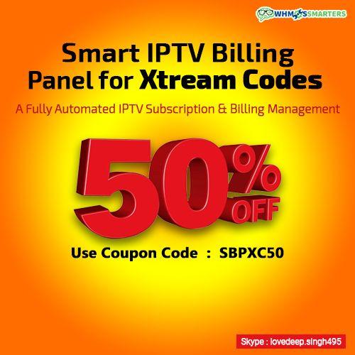 Whmcs Smarters (SmartIPTVBillingPanel) on Pinterest
