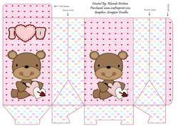 I Love You Valentine Bears 2 Pinch Bag