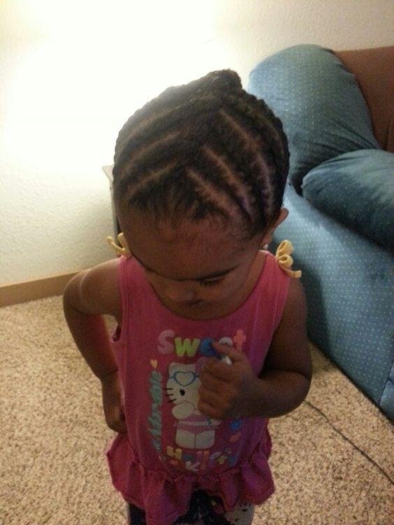 Astonishing Protective Style Corn Row Braids Biracial Hair Toddler Short Hairstyles For Black Women Fulllsitofus