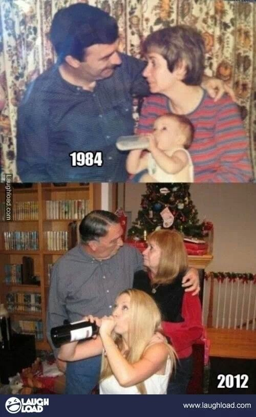 Oh, if only I could find this type of pic for me and my parents - lol