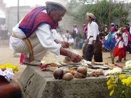 Visit local cemeteries in the Andes on Dia de los Difuntos.