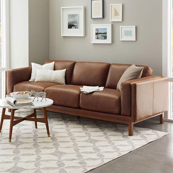 Mẫu sofa da thật tphcm dành dành cho không gian hiện đại