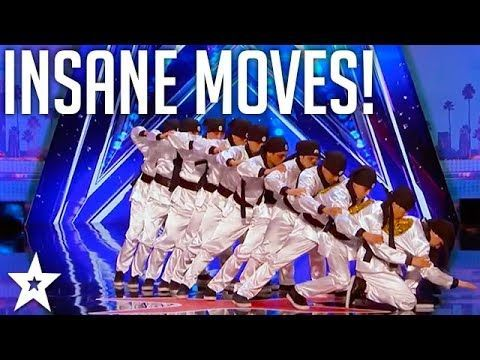 Just Jerk Insane Dance Act Performance America S Got Talent 2017 Youtube America S Got Talent Talent Dance