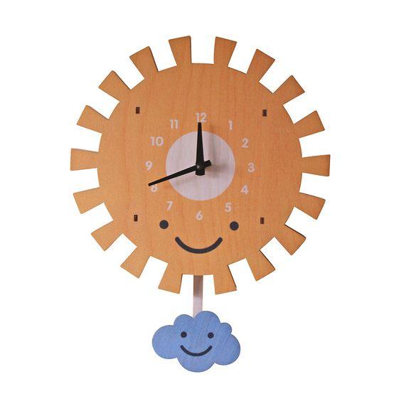 Discover the Modern Moose Sun Pendulum Clock at Amara