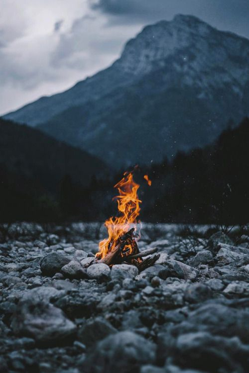 Campfire Image Fire Camping Travel Photograph We Heart It Instagram Follow Extremegentleman For More Fire Photography Nature Photography Photography