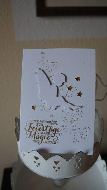HandWerk aus Papier: Noch zwei Weihnachtkarten.....................