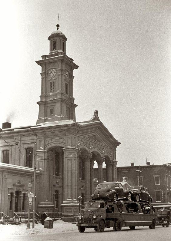 Buicks, Chillicothe, Ohio, 1940